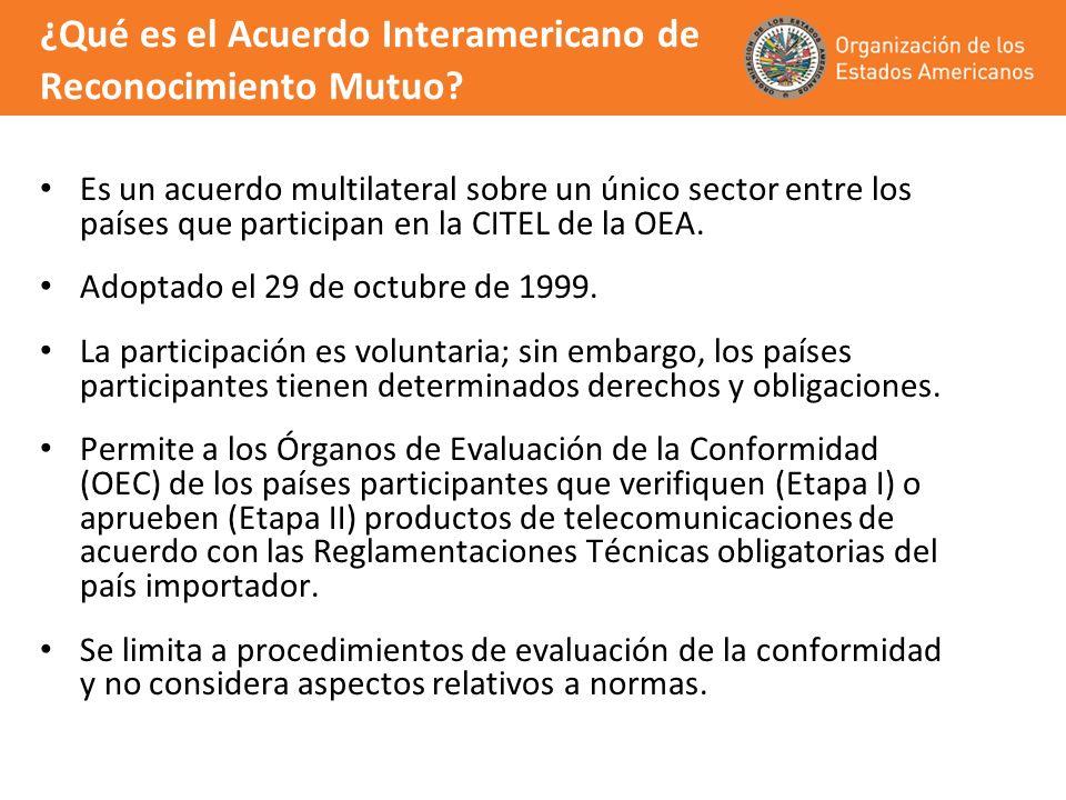 ¿Qué es el Acuerdo Interamericano de Reconocimiento Mutuo