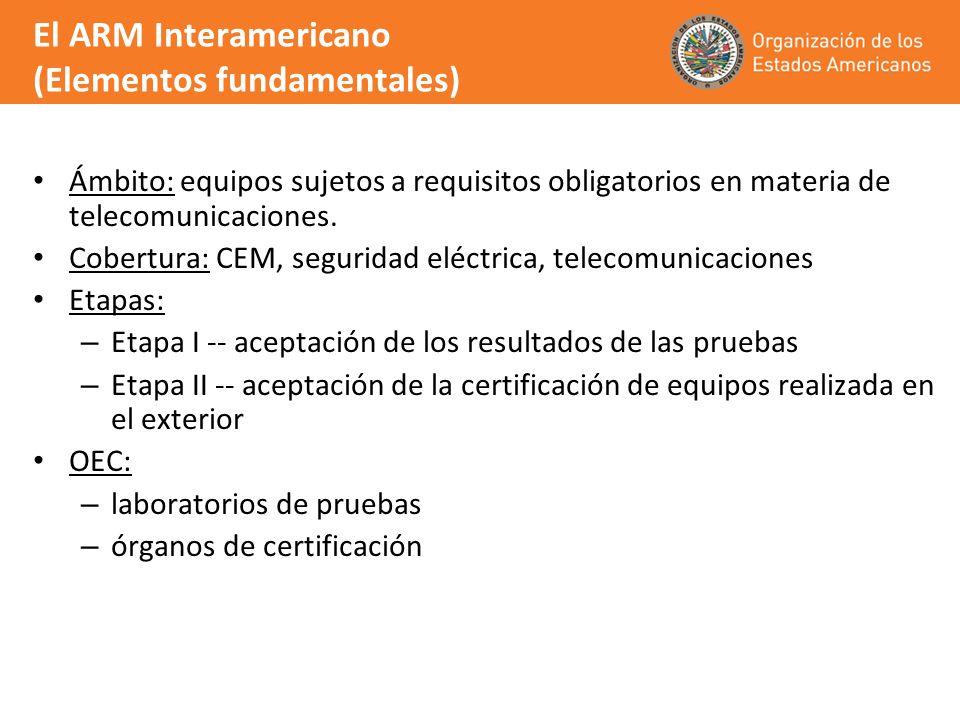 El ARM Interamericano (Elementos fundamentales)
