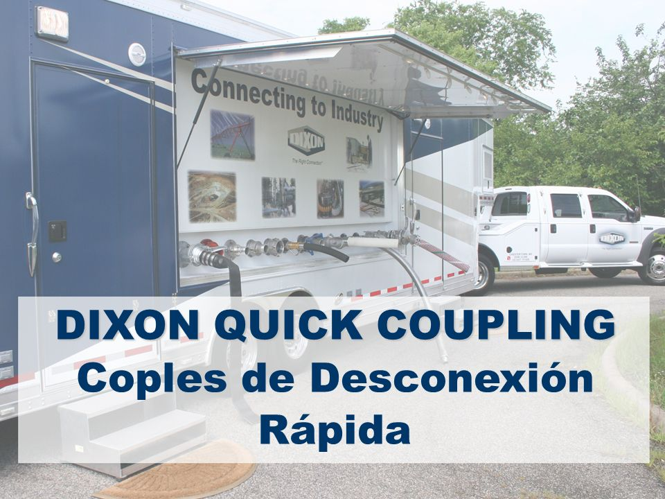 DIXON QUICK COUPLING Coples de Desconexión Rápida
