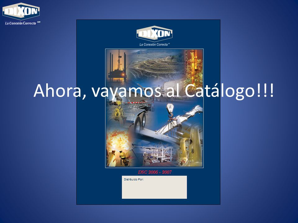 Ahora, vayamos al Catálogo!!!