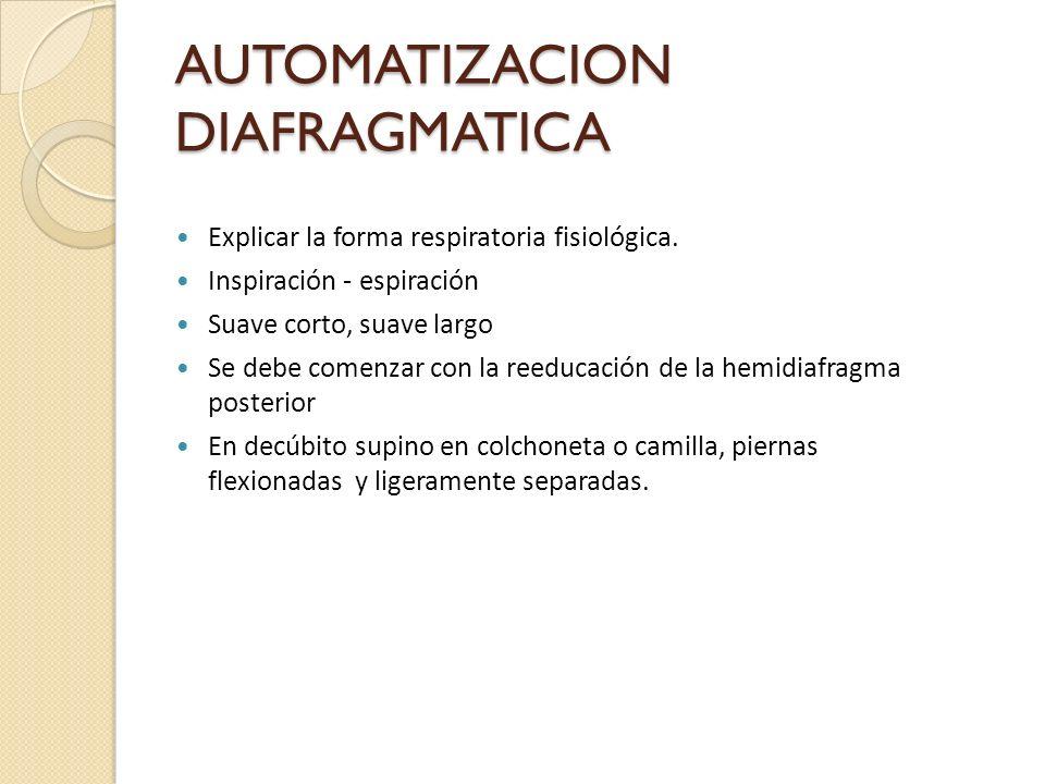 AUTOMATIZACION DIAFRAGMATICA