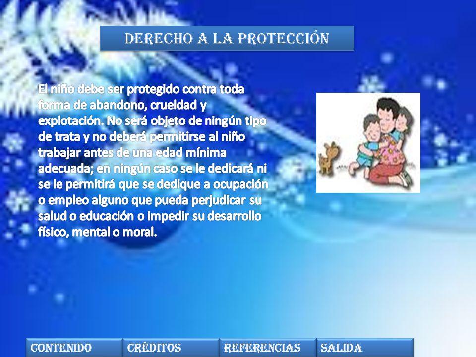 Derecho a la protección