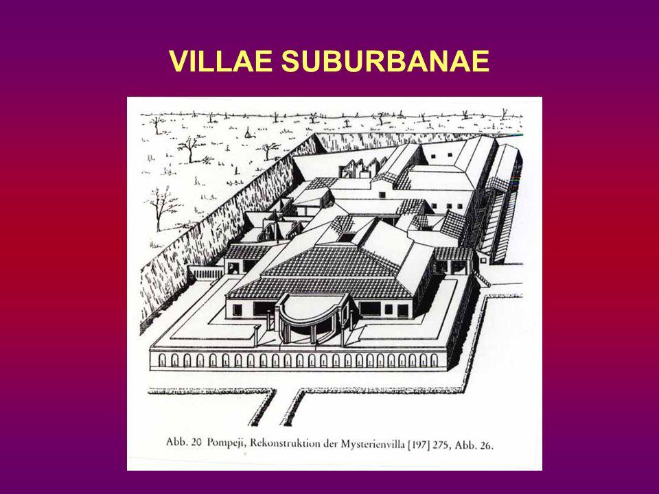 VILLAE SUBURBANAE