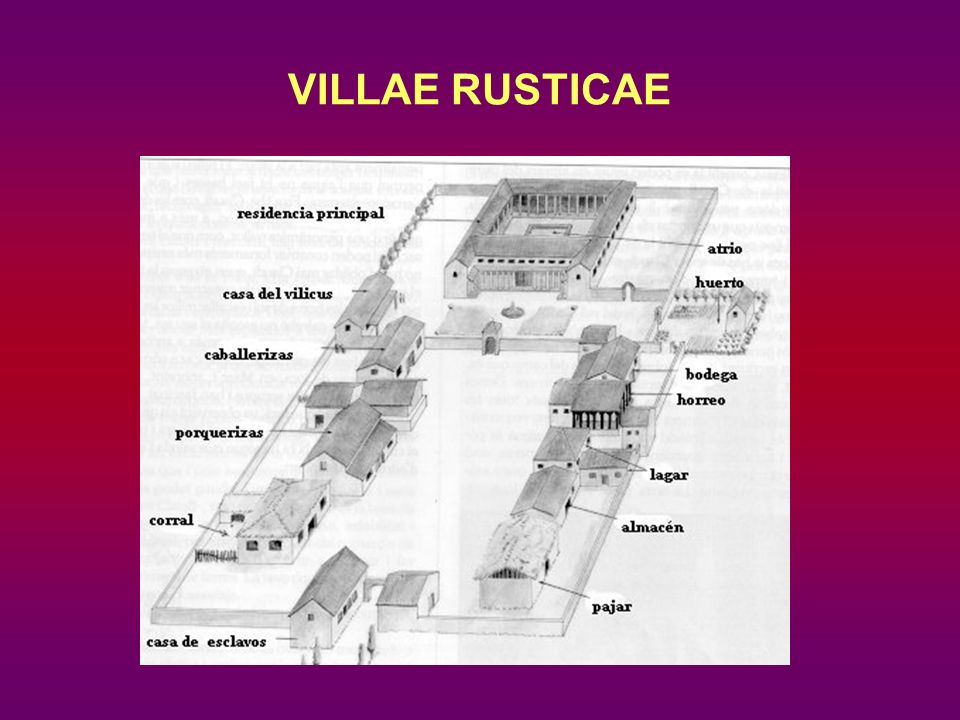 VILLAE RUSTICAE