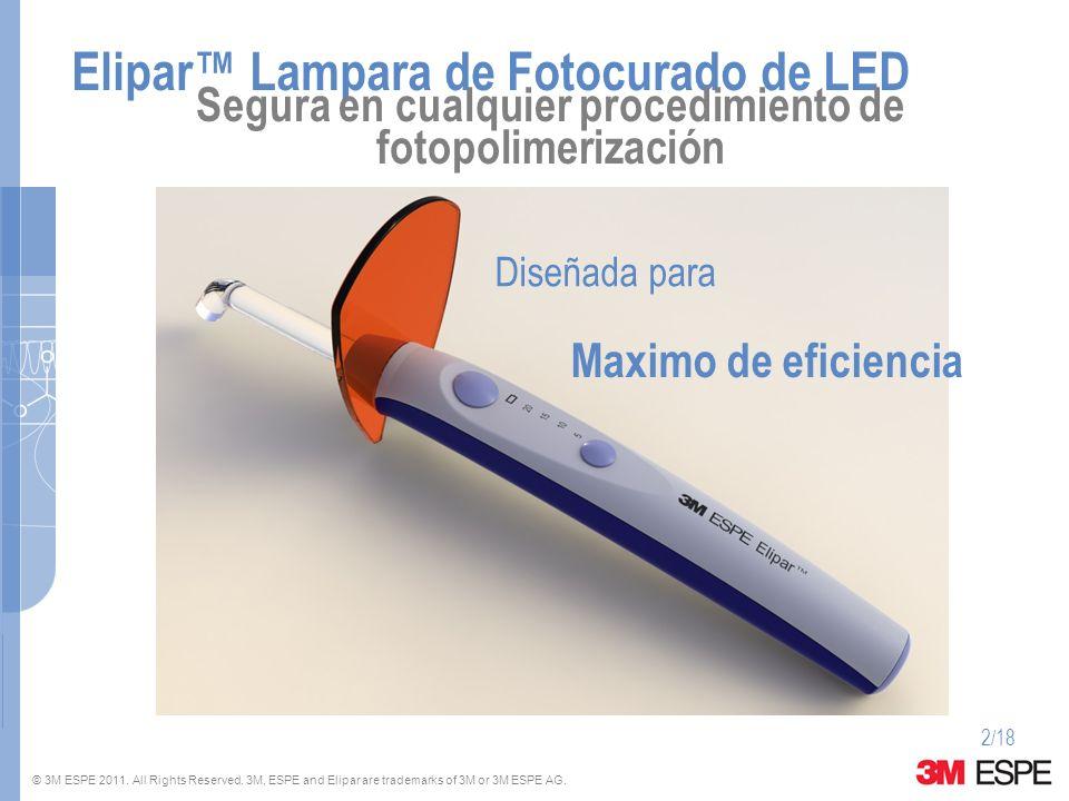 Elipar™ Lampara de Fotocurado de LED