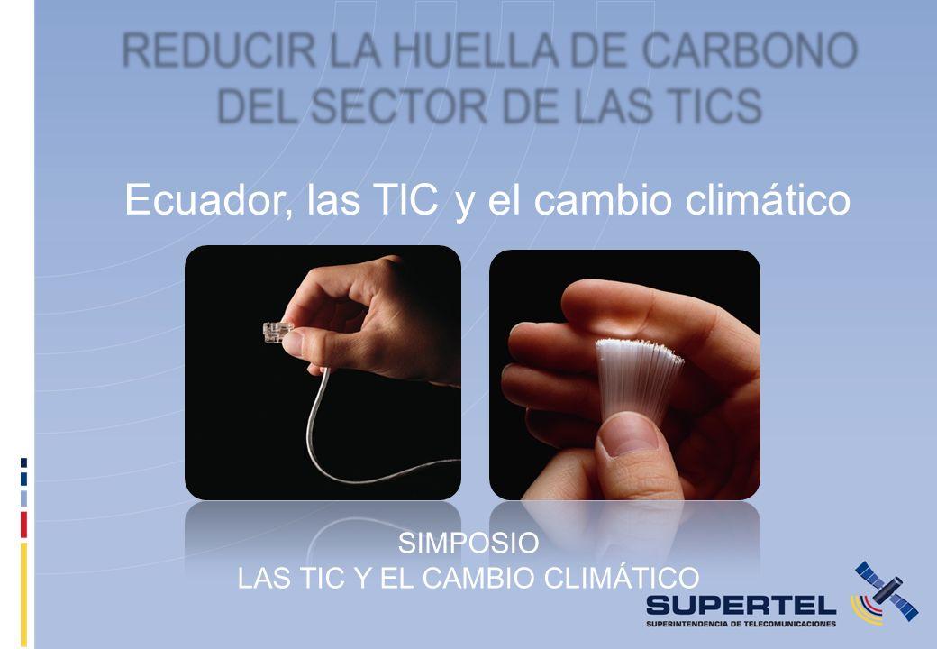 Ecuador, las TIC y el cambio climático