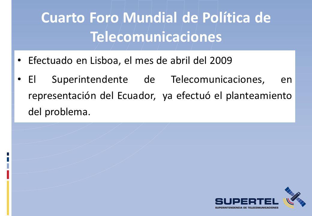 Cuarto Foro Mundial de Política de Telecomunicaciones