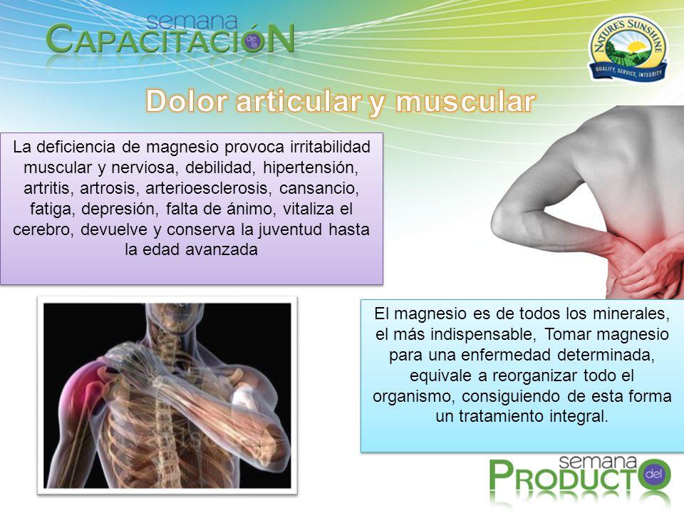 Dolor articular y muscular