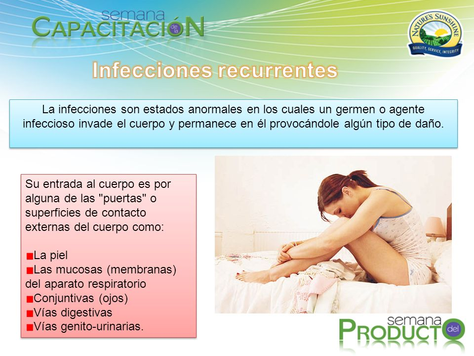 Infecciones recurrentes