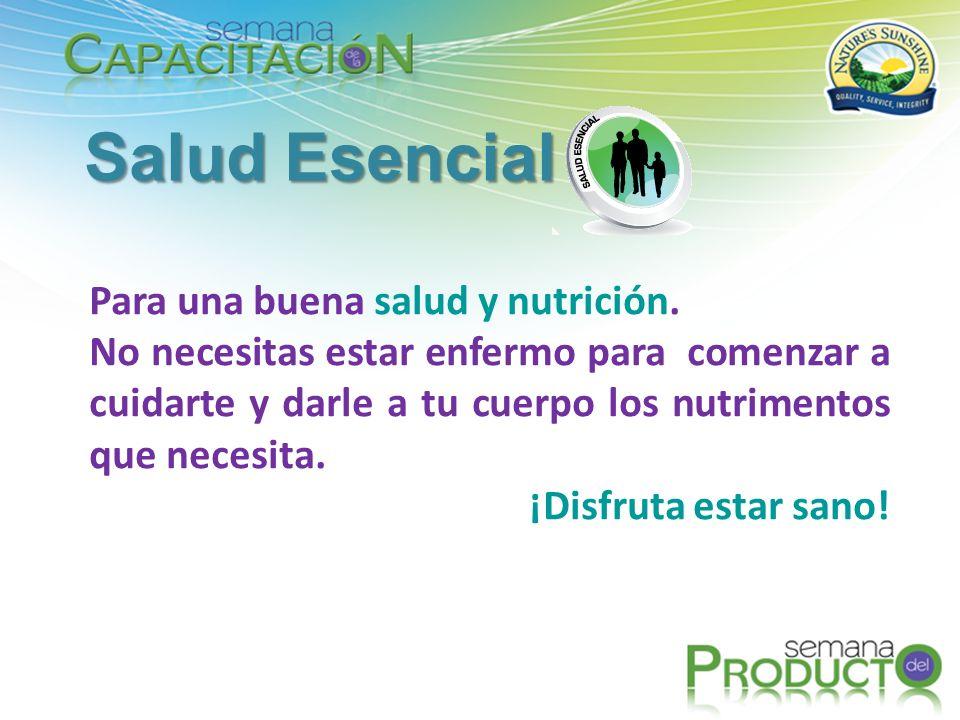 Salud Esencial Para una buena salud y nutrición.