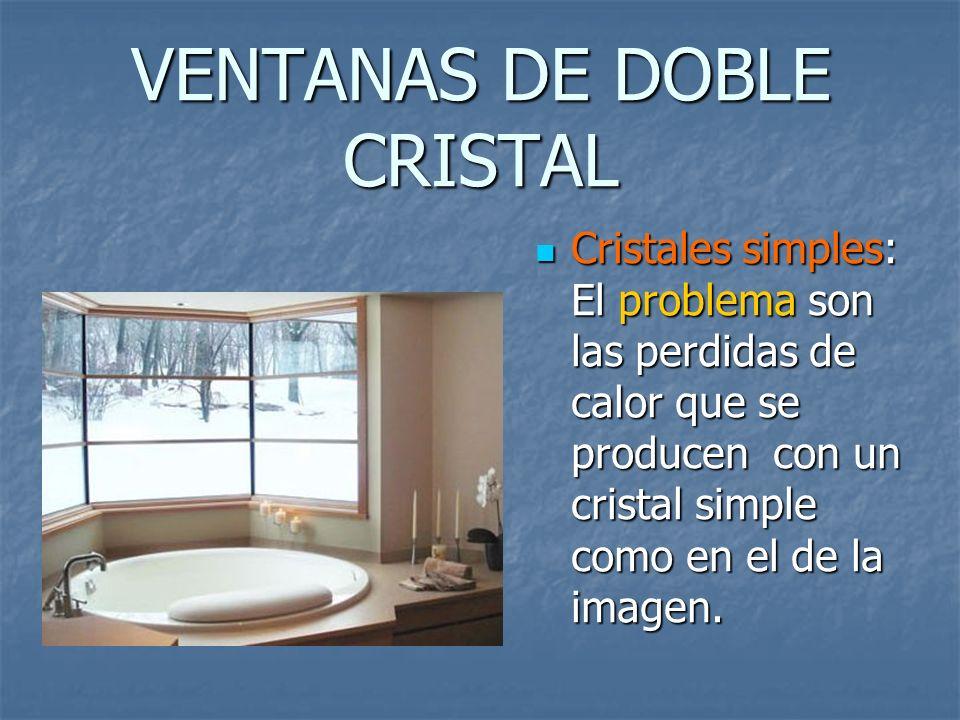 VENTANAS DE DOBLE CRISTAL