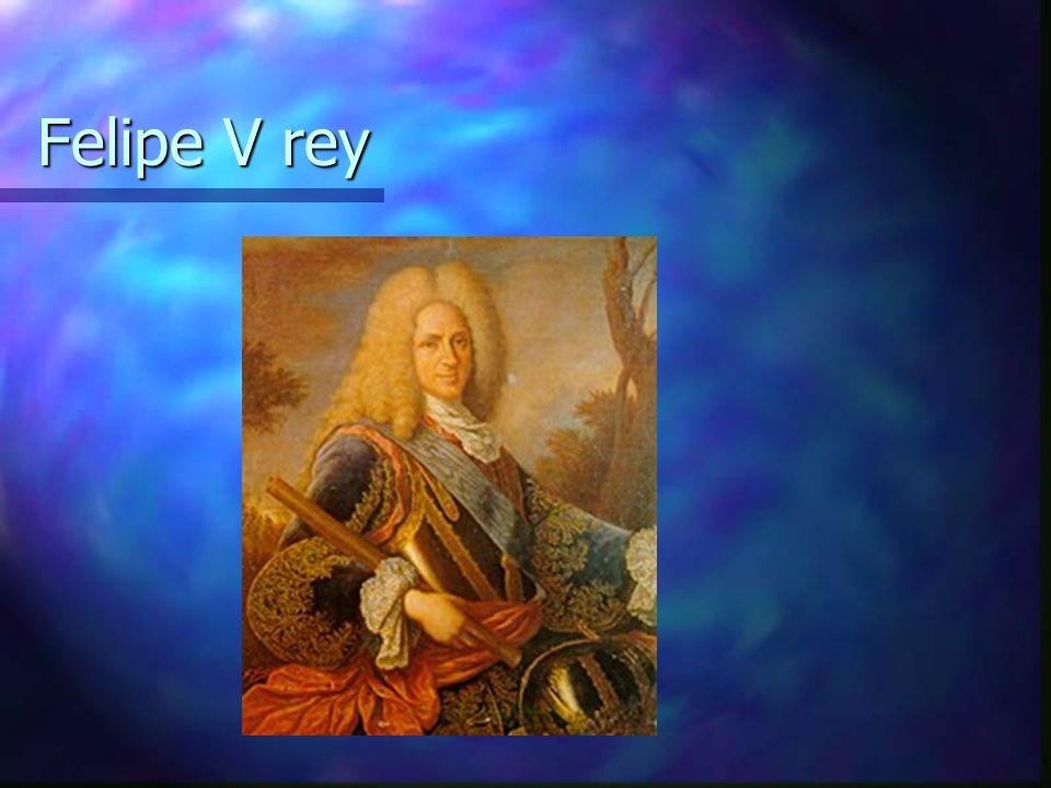 Felipe V rey