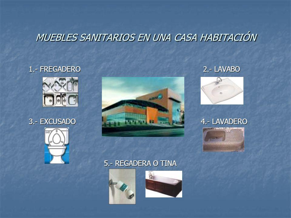 MUEBLES SANITARIOS EN UNA CASA HABITACIÓN
