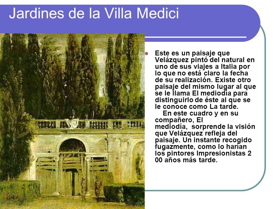 Jardines de la Villa Medici