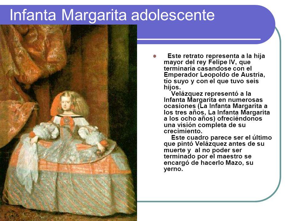 Infanta Margarita adolescente