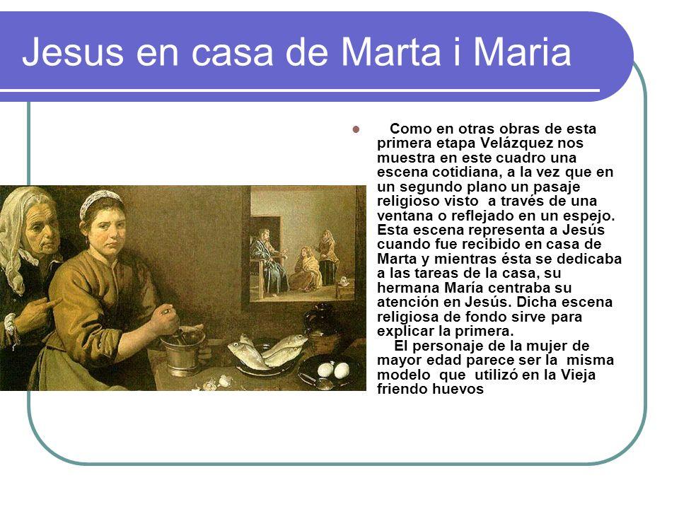 Jesus en casa de Marta i Maria