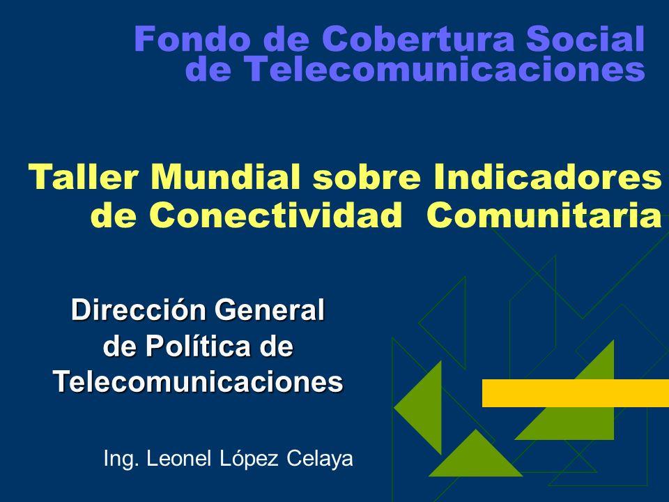Fondo de Cobertura Social de Telecomunicaciones