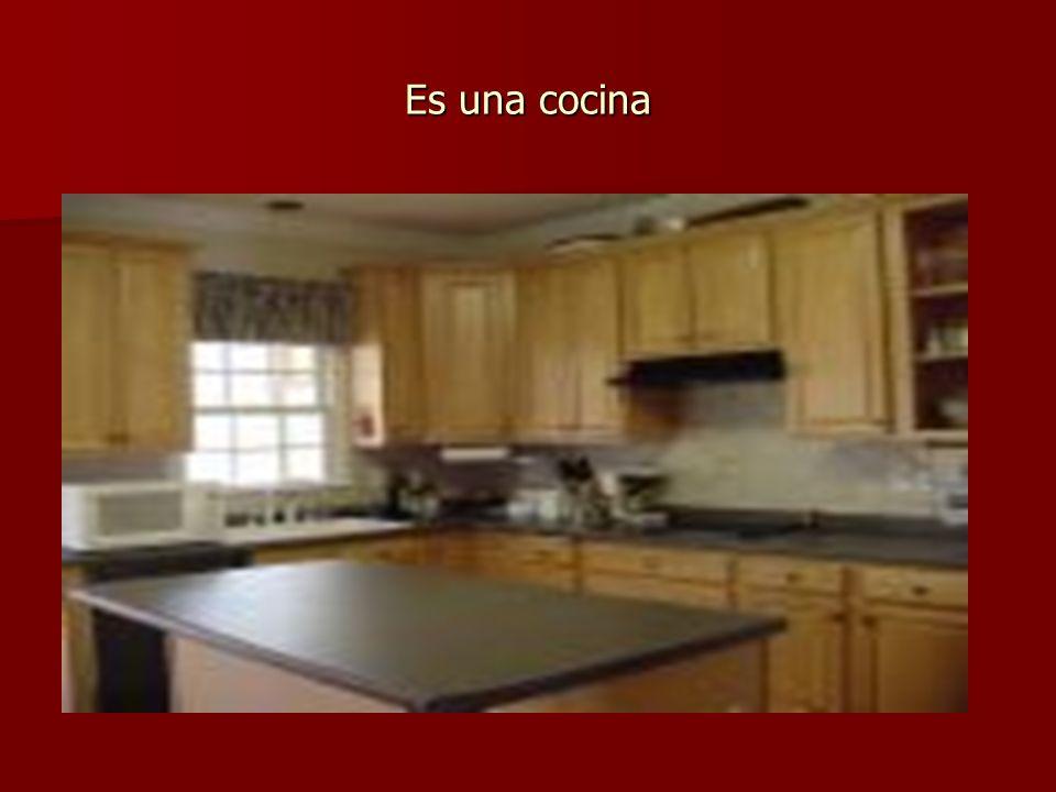 Es una cocina
