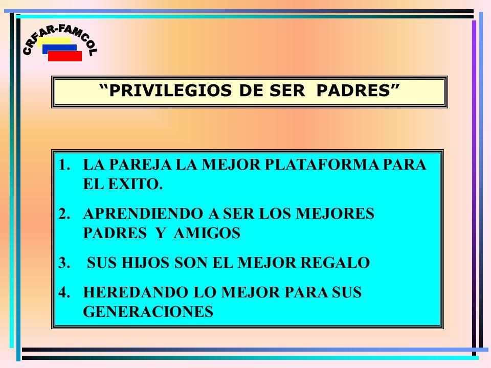 PRIVILEGIOS DE SER PADRES