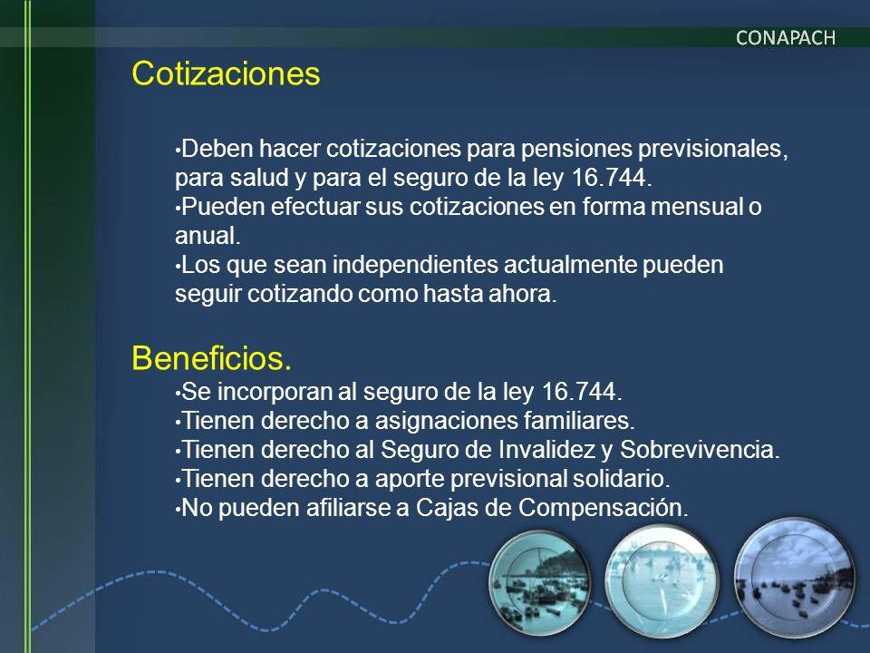 Cotizaciones Beneficios.