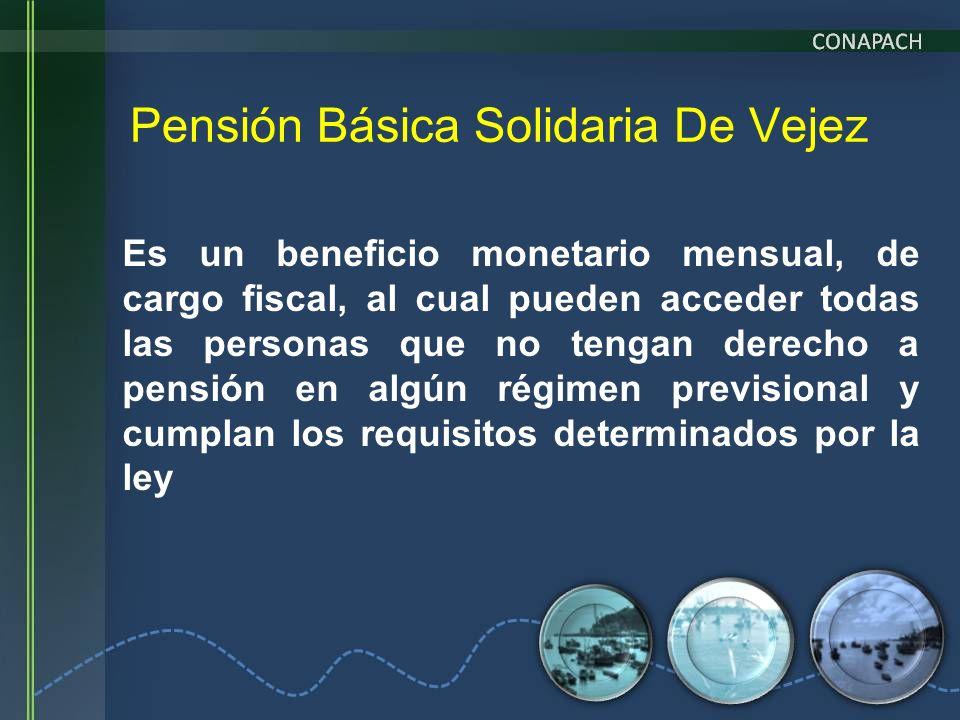 Pensión Básica Solidaria De Vejez