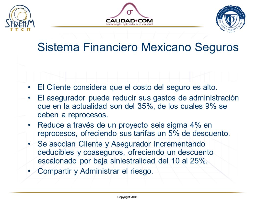 Sistema Financiero Mexicano Seguros