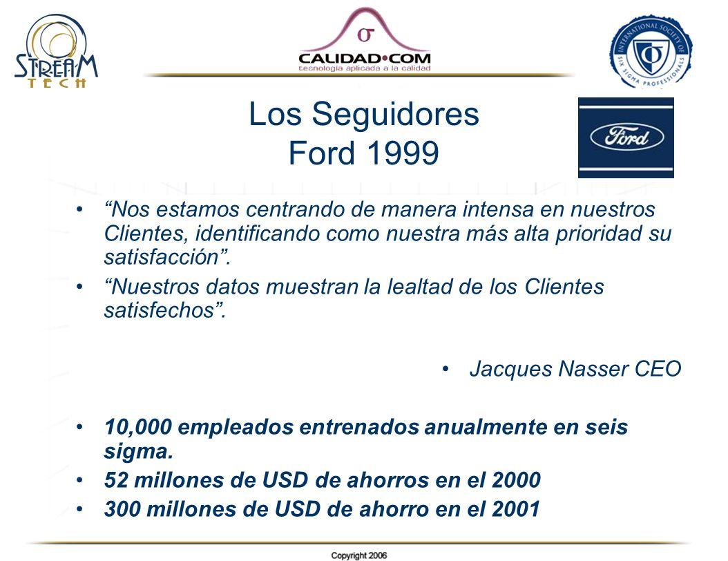 Los Seguidores Ford 1999