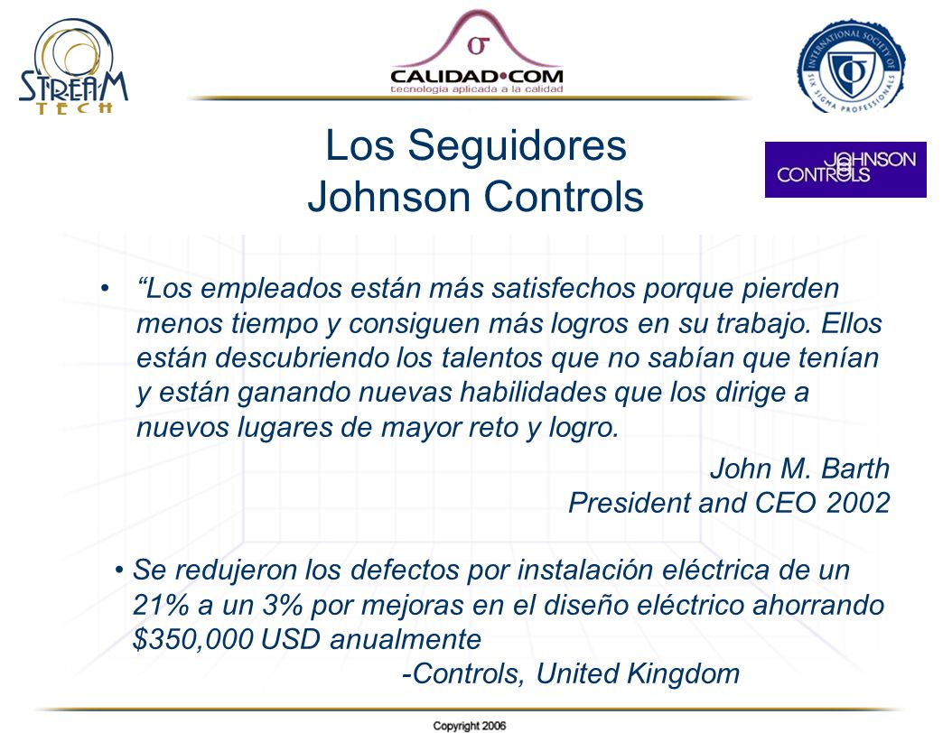 Los Seguidores Johnson Controls