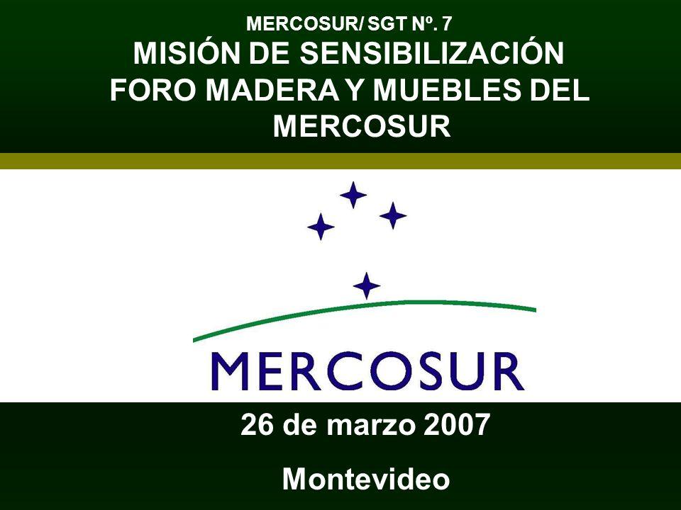 MISIÓN DE SENSIBILIZACIÓN FORO MADERA Y MUEBLES DEL MERCOSUR
