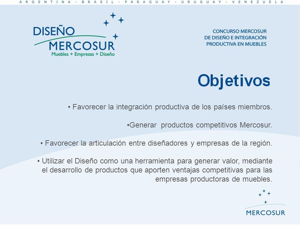 Favorecer la integración productiva de los países miembros.