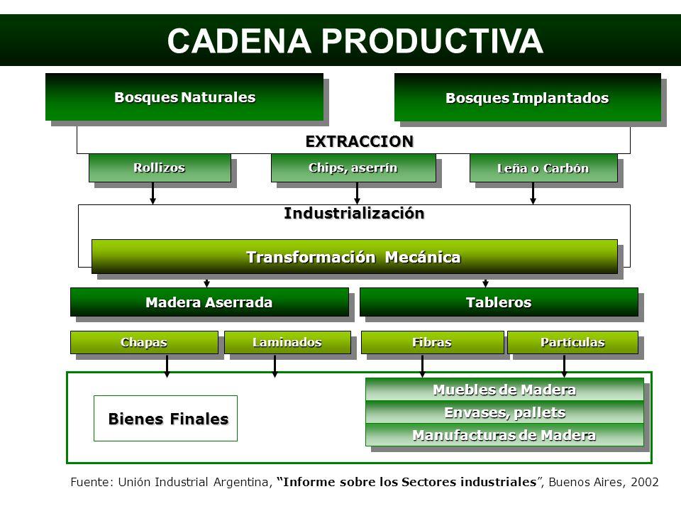 Transformación Mecánica Manufacturas de Madera