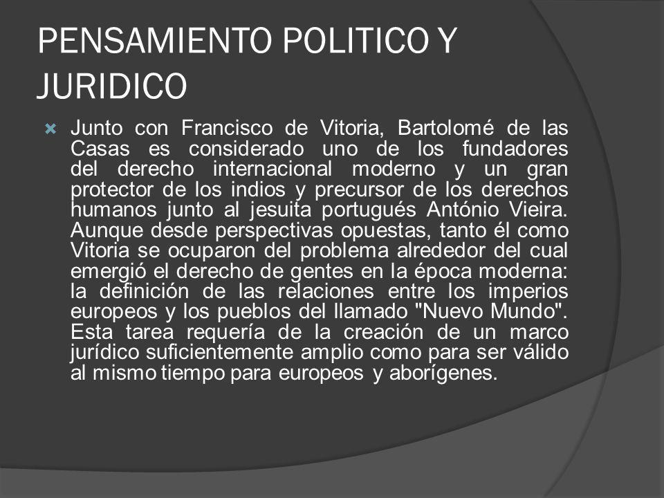 PENSAMIENTO POLITICO Y JURIDICO