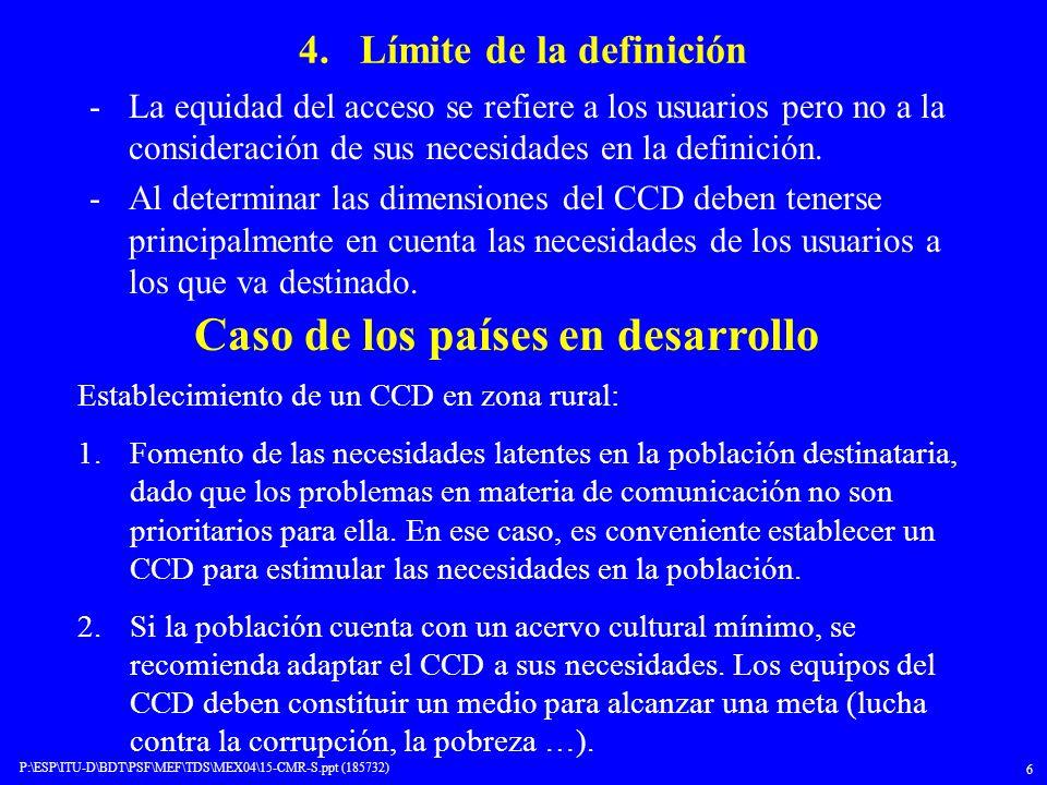 4. Límite de la definición