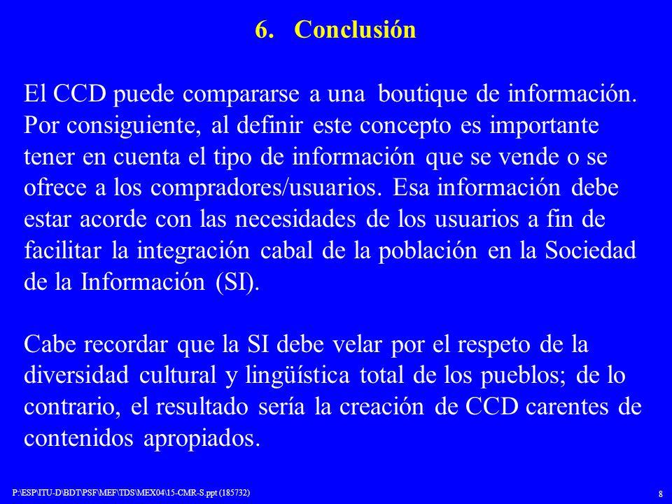 6. Conclusión