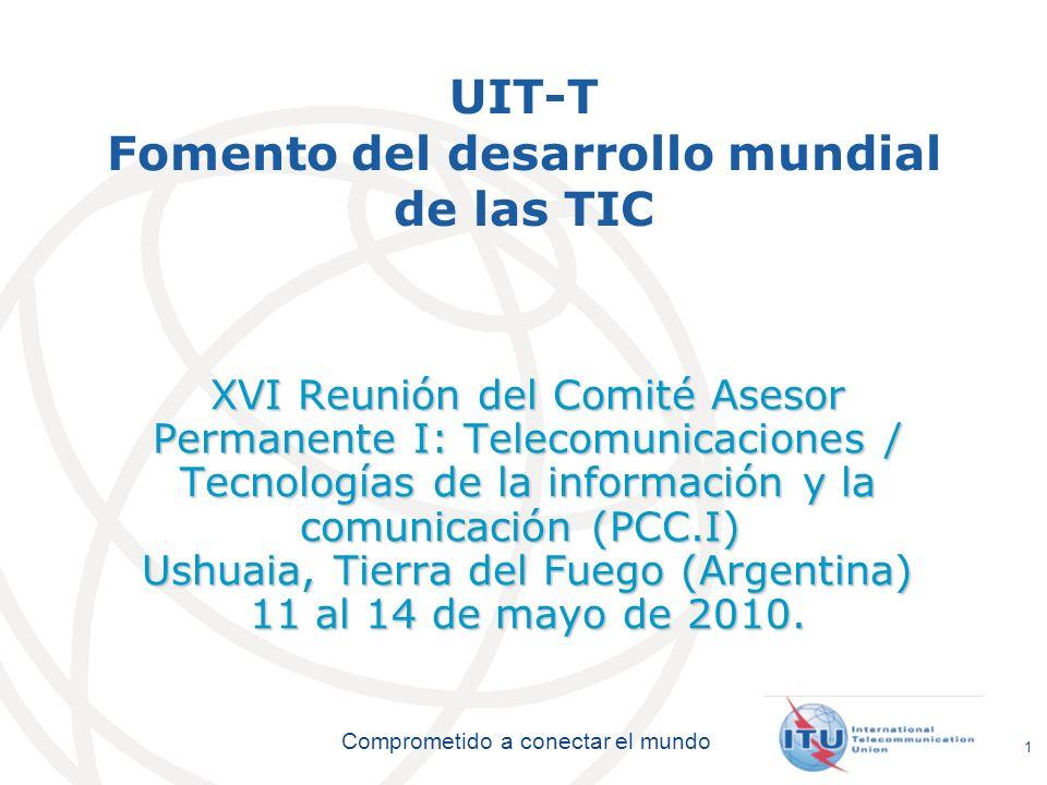 UIT-T Fomento del desarrollo mundial de las TIC