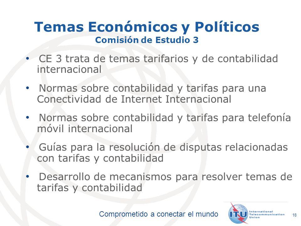 Temas Económicos y Políticos Comisión de Estudio 3