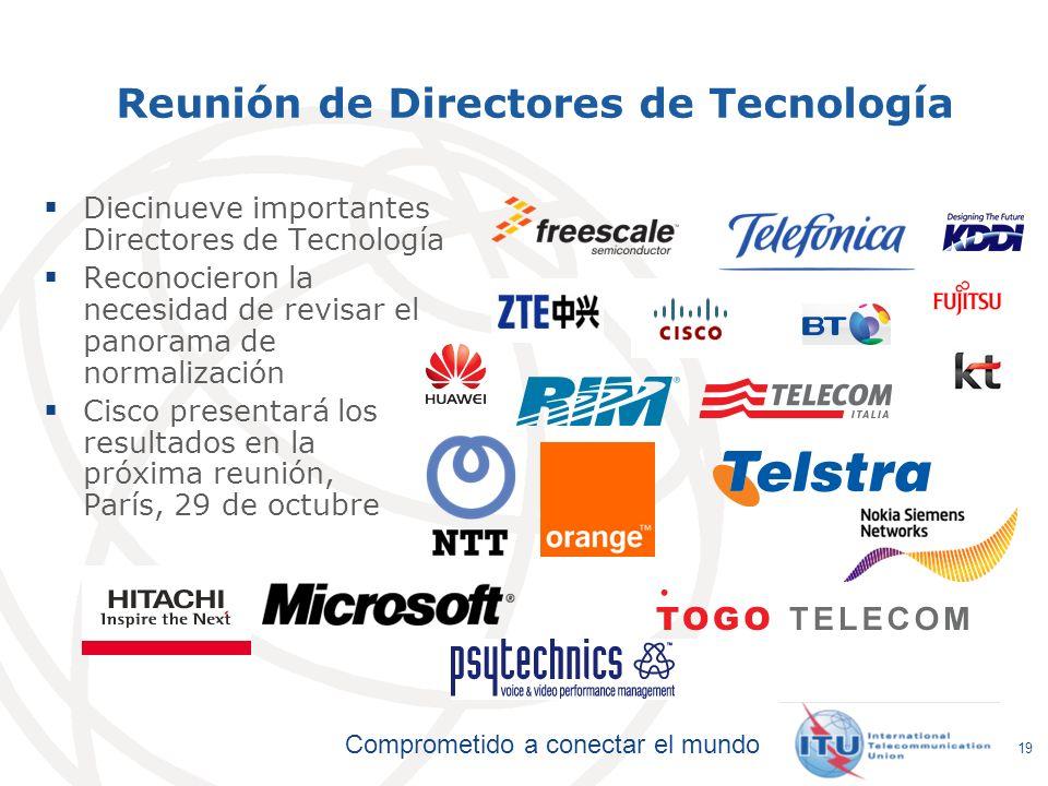 Reunión de Directores de Tecnología