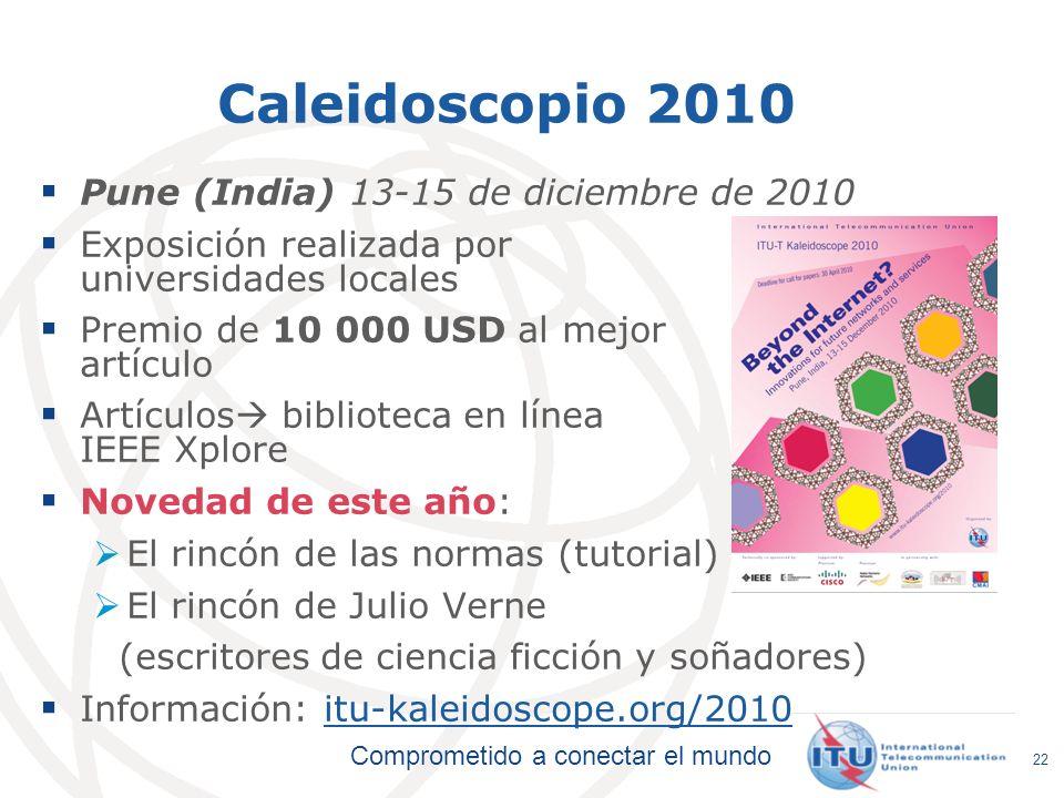 Caleidoscopio 2010 Pune (India) 13-15 de diciembre de 2010