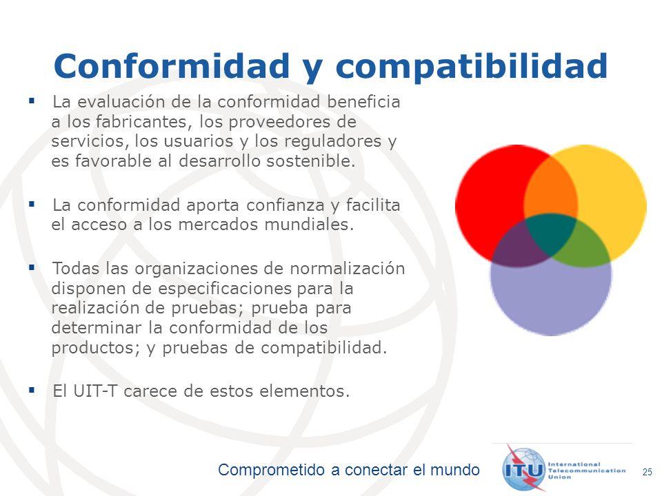 Conformidad y compatibilidad