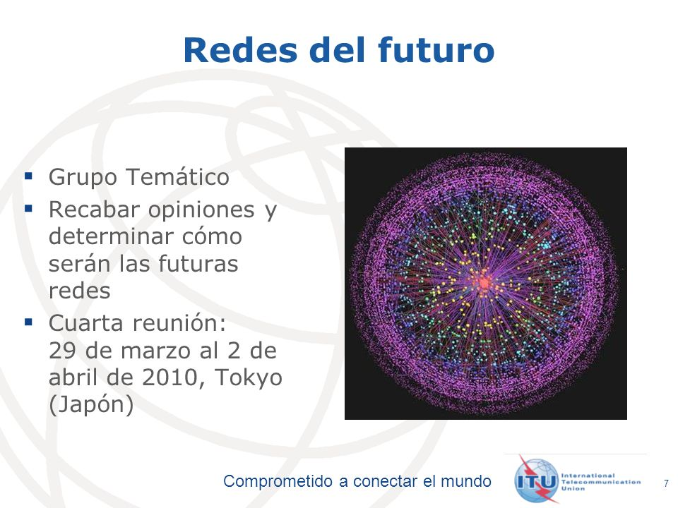 Redes del futuro Grupo Temático