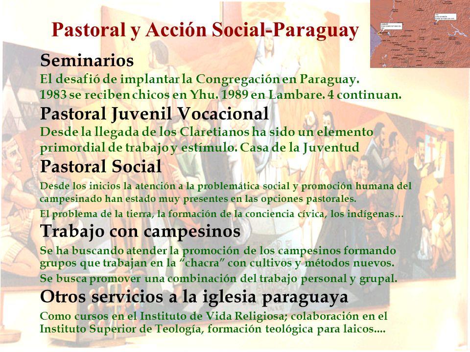 Pastoral y Acción Social-Paraguay