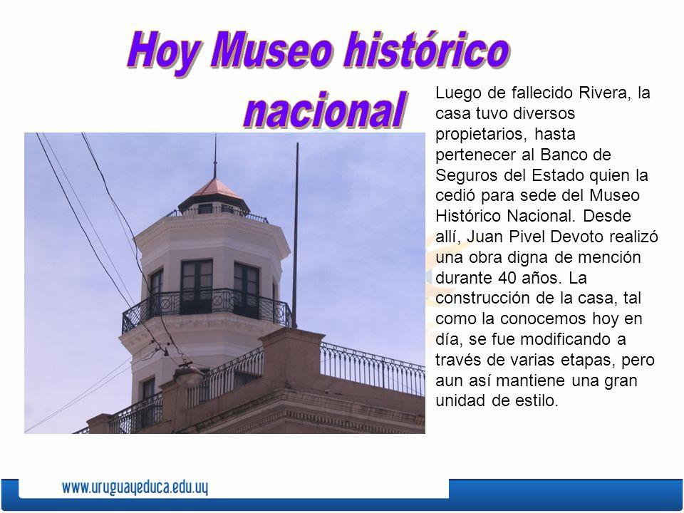 Hoy Museo histórico nacional
