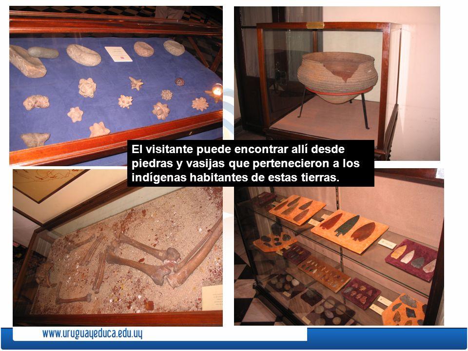 El visitante puede encontrar allí desde piedras y vasijas que pertenecieron a los indígenas habitantes de estas tierras.