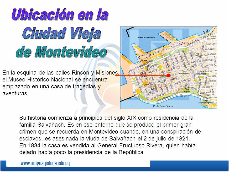 Ubicación en la Ciudad Vieja de Montevideo