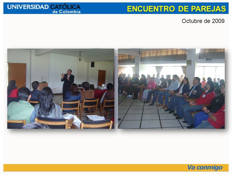 ENCUENTRO DE PAREJAS Octubre de 2009