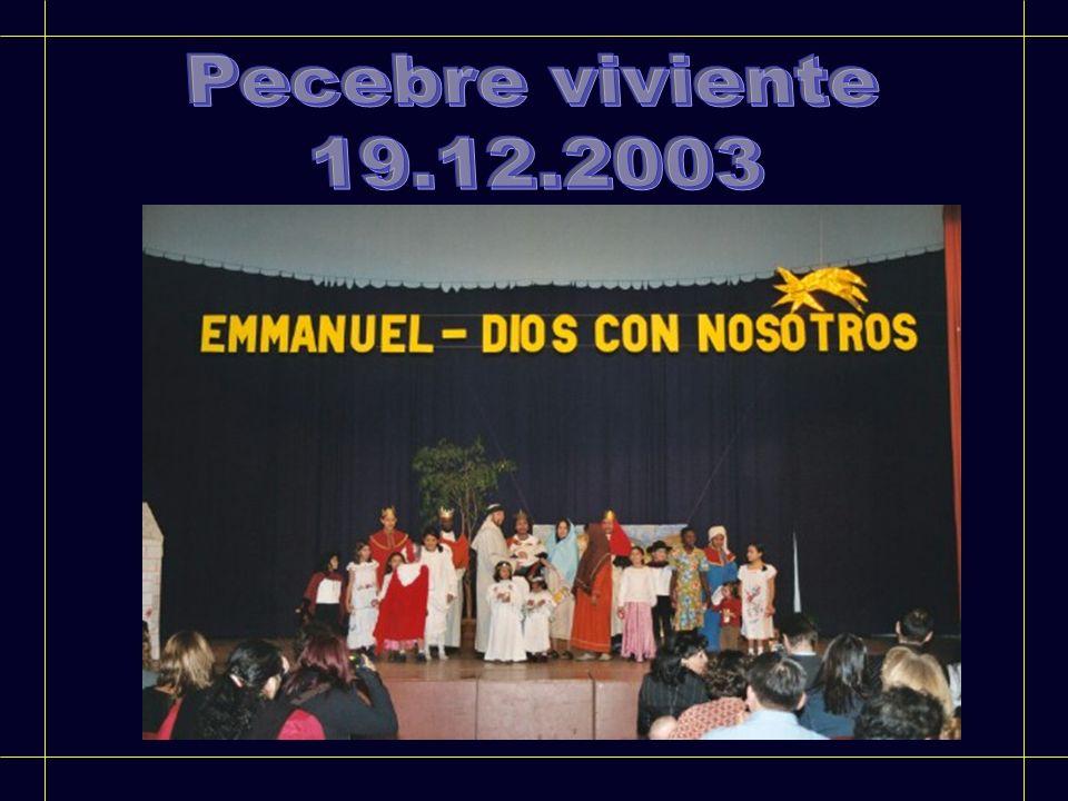 Pecebre viviente 19.12.2003