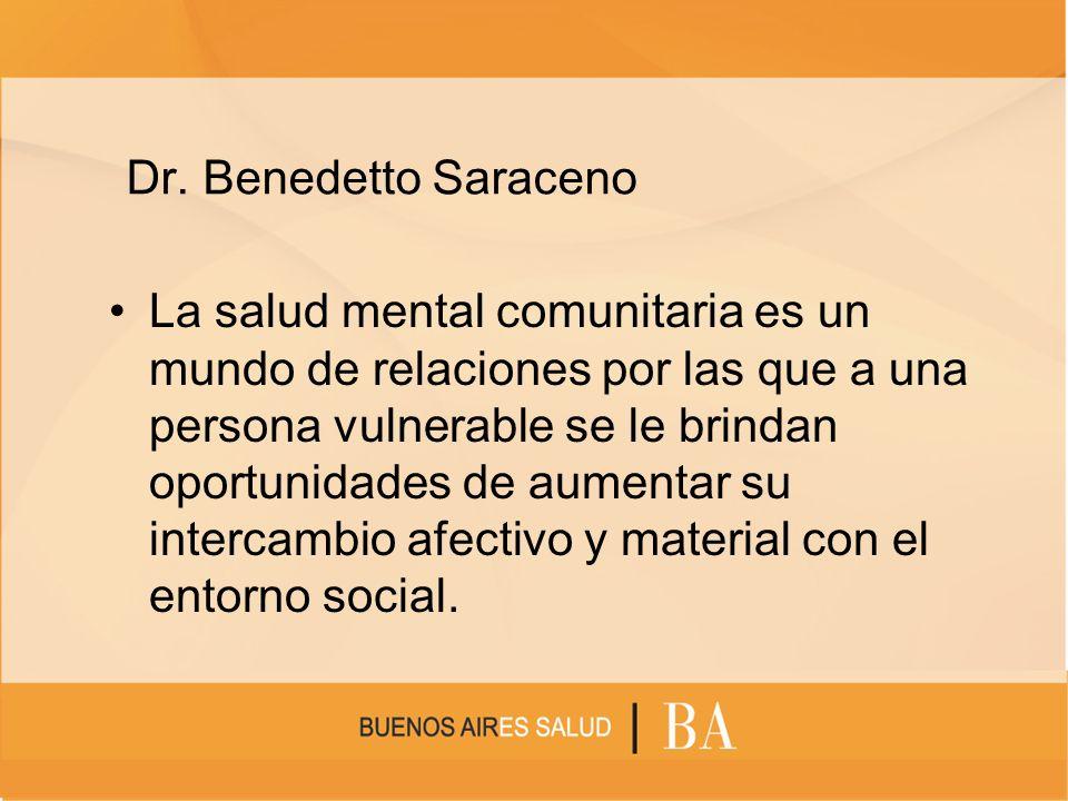 Dr. Benedetto Saraceno