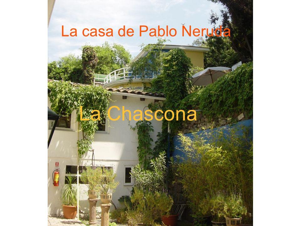 La casa de Pablo Neruda La Chascona