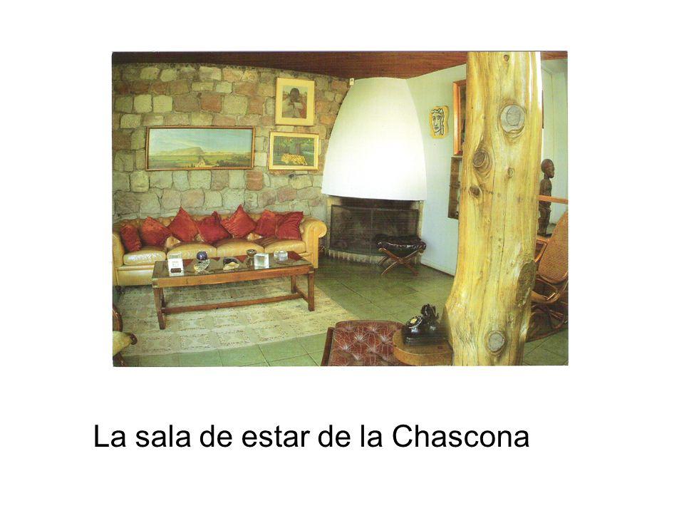 La sala de estar de la Chascona