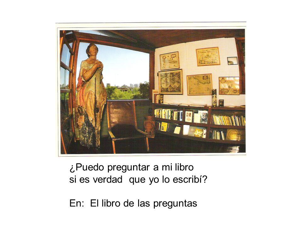 ¿Puedo preguntar a mi libro